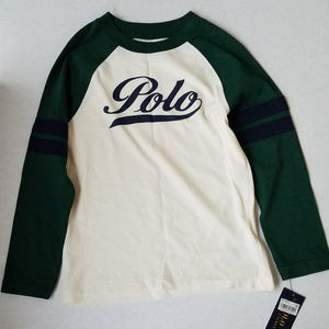 Polo Ralph Lauren Long Sleeve Shirt Size 5